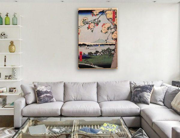 Buy Cheap Hiroshige Canvas Art Prints Online