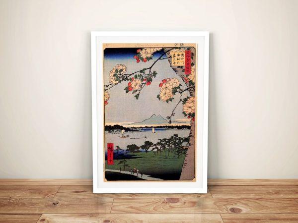 Buy Suijin Shrine Japanese Canvas Wall Art