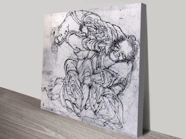 Buy Suikoden Scene Japanese Artwork Online