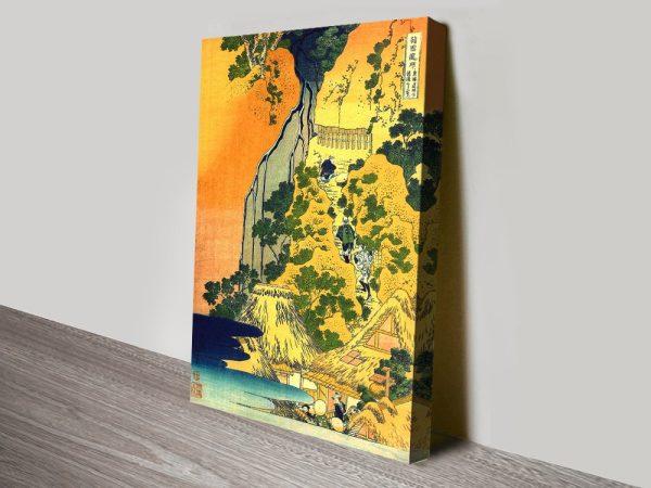 Buy a Hokusai Canvas Print Cheap Online AU
