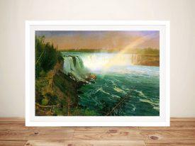 Niagara Falls Buy Bierstadt Landscape Art