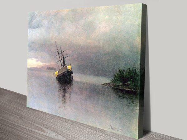 Buy Shipwreck in Loring Bay Cheap Bierstadt Art