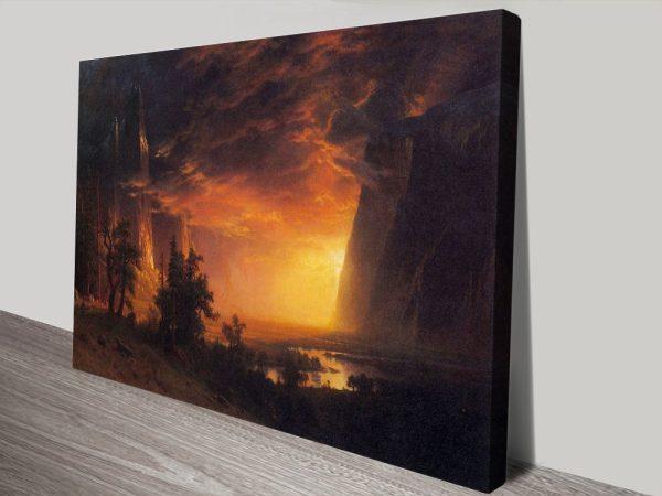 Buy Sunrise in Yosemite Valley Cheap Art Online