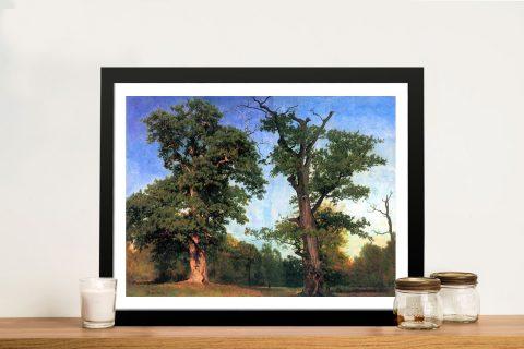 Buy The Pioneers of Forest Bierstadt Framed Art
