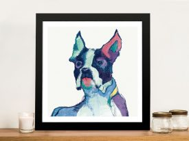 Ulysses Watercolor Pastel Framed Wall Art