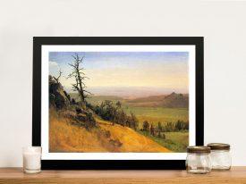 Buy Wasatch Mountains Nebraska Framed Print