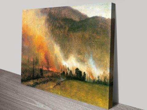 Buy White Mountains by Bierstadt Cheap Art AU