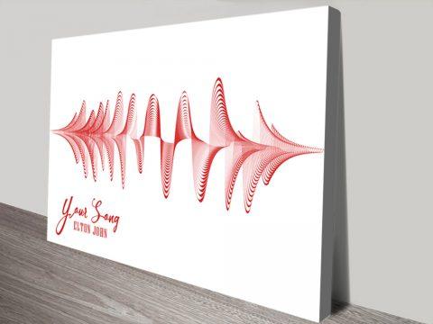 Buy Your Song Elton John 3D Art Gift Ideas AU