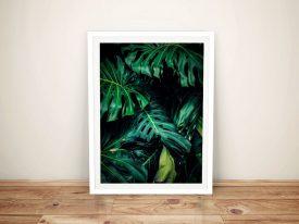 Buy a Print of Tropical Leaves Wall Art