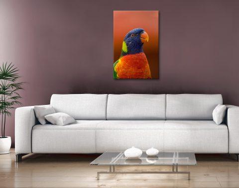 Buy Colourful Bird Canvas Art Gift Ideas AU