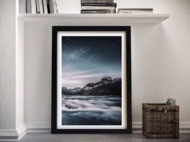 Buy Lunar Landscape Astral Canvas Wall Art