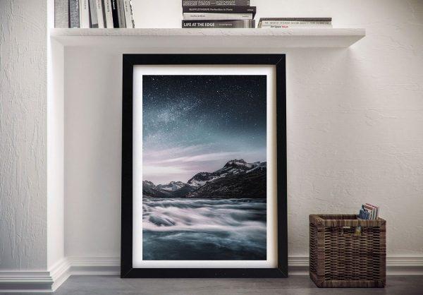 Buy Lunar Landscape Astral Canvas Wall Art