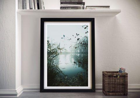 Buy Morning on the Lake Landscape Canvas Art