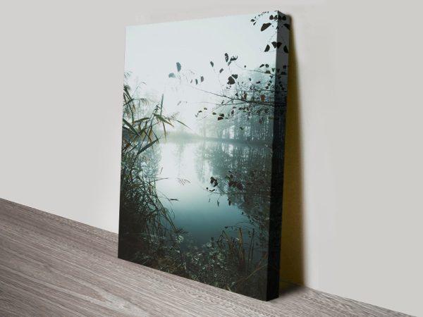Buy Morning on the Lake Cheap Landscape Art AU