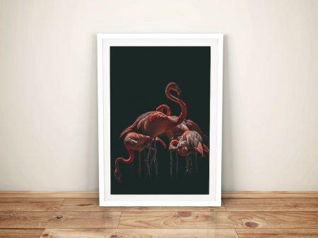 Buy a Canvas Print of Flamingo Vision Wall Art