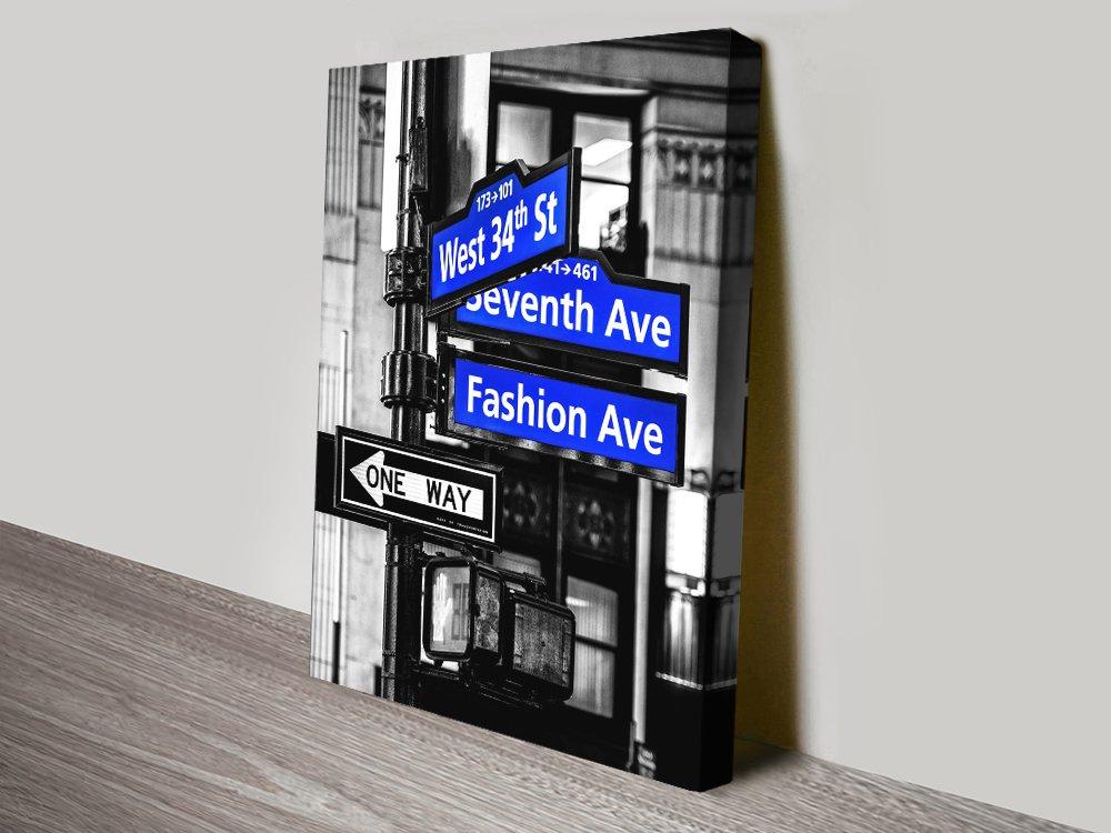 Buy Manhattan Signs Avenue Cheap Prints AU