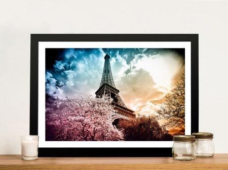 Buy Colourful Eiffel Artwork by P.Hugonnard