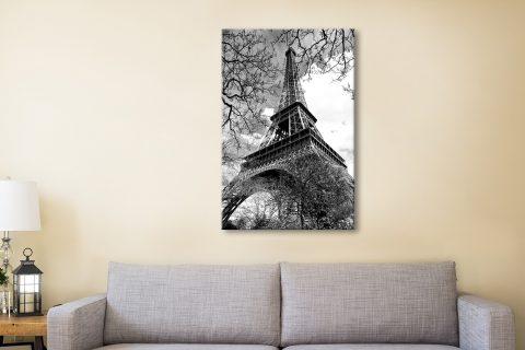 Buy Eiffel Tower Black & White Art Gift Ideas AU