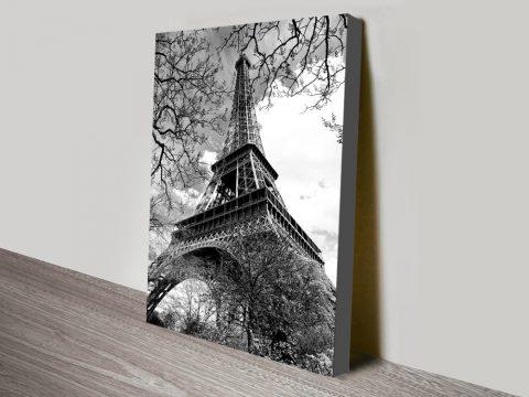 Buy Eiffel Tower Affordable Canvas Artwork AU