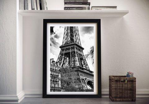 Buy La Tour Eiffel a Hugonnard Canvas Print