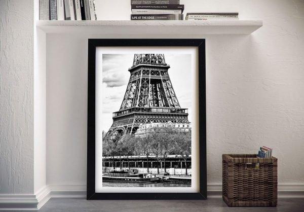 Buy a Framed Canvas Print of The Eiffel