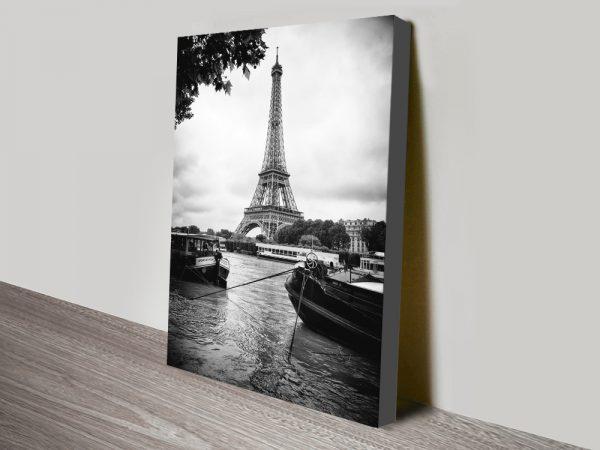 Buy a Print of Paris sur Seine Affordable Art AU
