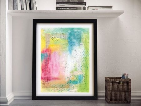Buy a Stretched Canvas Print of Collage 25
