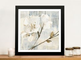 Buy Elegance l Pretty Floral Canvas Wall Art