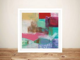 Buy Fun Colours l Abstract Canvas Wall Art