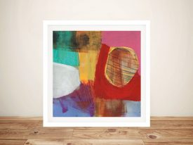 Buy Fun Colours ll Framed Canvas Wall Art