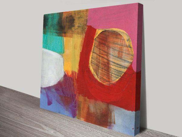 Buy Fun Colours ll Cheap Abstract Canvas Art AU