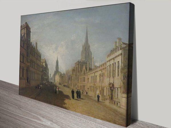 Buy High Street Oxford Art Cheap Classic Art AU