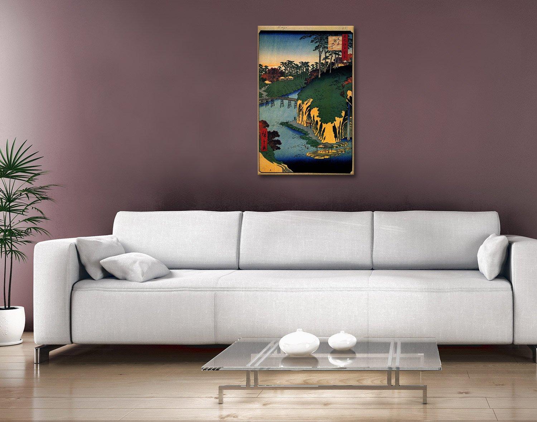 Buy-Takinogawa-Canvas-Art-Unique-Gifts-Online - Blue Horizon