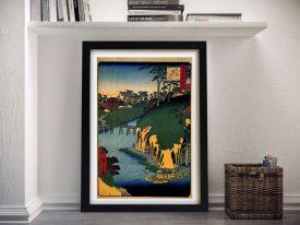 Buy a Print of Takinogawa by Hiroshige