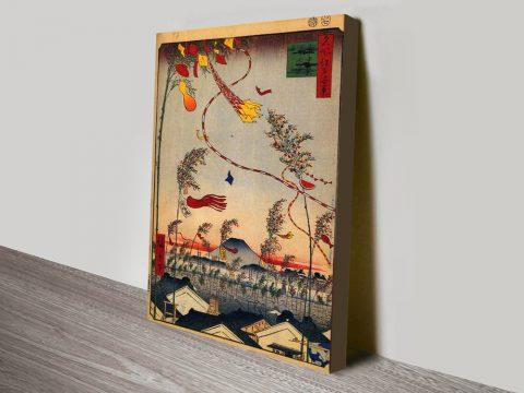 Buy Tanabata Festival Cheap Canvas Prints AU