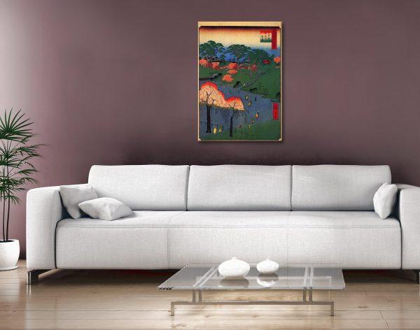 Buy Temple Gardens Japanese Canvas Prints AU