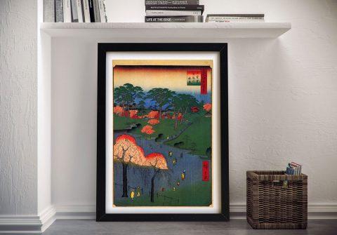 Buy Temple Gardens Scenic Japanese Art