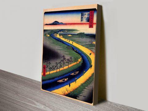 Buy Towboats Along the Yotsugi Cheap Art AU