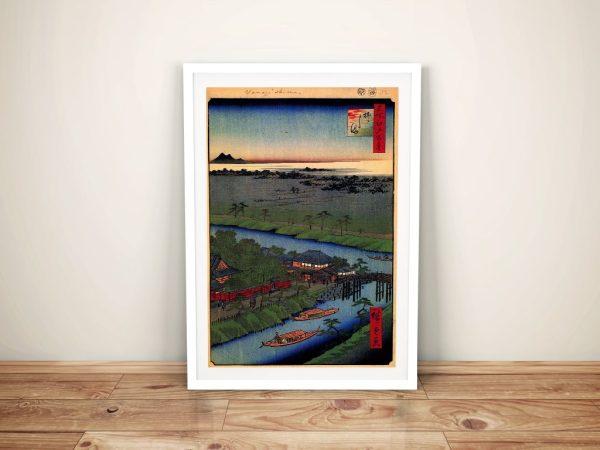 Buy a Framed Canvas Print of Yanagishima