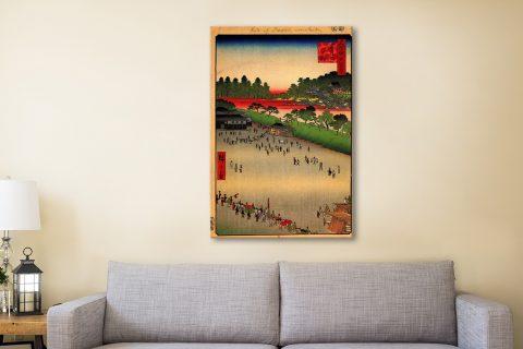 Buy Hiroshige Japanese Wall Art Unique Presents AU