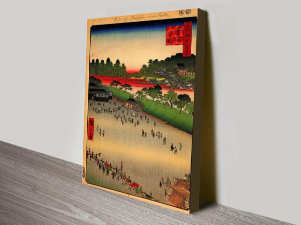 Buy Hiroshige Japanese Wall Art Cheaply Online
