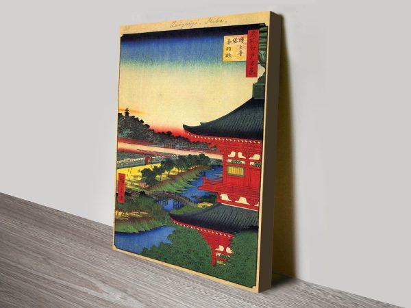 Buy a Print of Zojoji Pagoda Cheap Prints AU