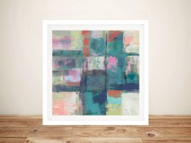 Buy Island Hues l Colourful Canvas Artwork