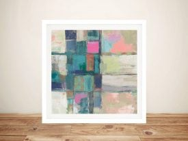 Buy a Framed Canvas Print of Island Hues ll