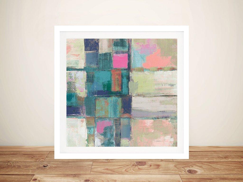 Buy a Framed Canvas Print of Island Hues ll