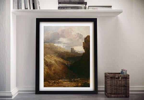 Buy a Classic Art Print of Dolbadarn Castle