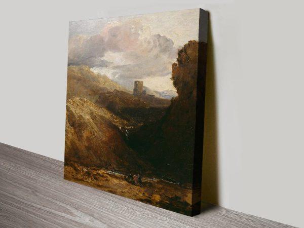 Buy a Print of Dolbadarn Castle Great Gift Ideas AU