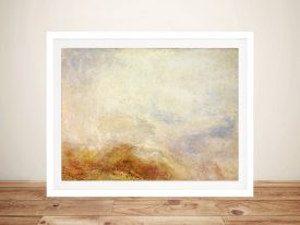 Buy A Mountain Scene Canvas Art by Turner