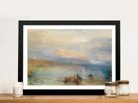 Buy a Framed Print of The Red Rigi by Turner