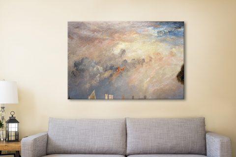 Buy Il Castello di Carnaevon Classic Wall Art Online